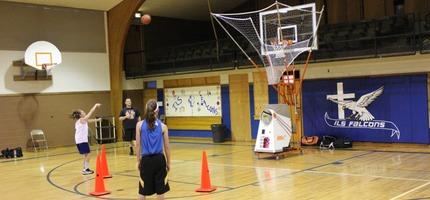 basketball passer machine